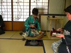 後座-濃茶