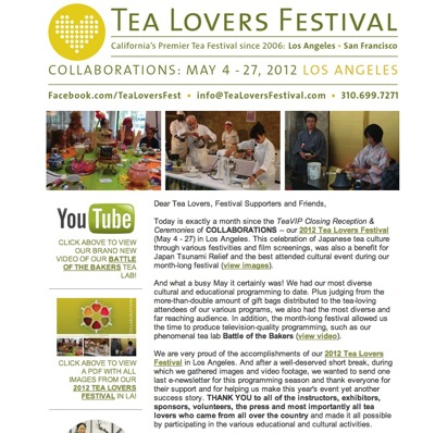 Tea Lovers Festival