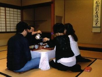 テーブル茶2