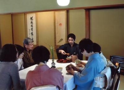 テーブル茶席2