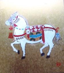 塚原宗清さんの「百歳の春」の作品